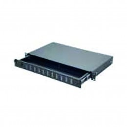 "1U 19"" FİBER PATCH PANEL ST SOKET"