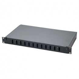 "1U 19"" RAYLI FİBER PATCH PANEL ST SOKET"