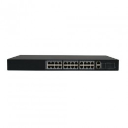 24 PORT POE PLUS 30.8 W DUAL UPLINK SWITCH