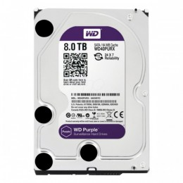 "WD Purple 8TB Intellipower Sata 3.0 64Mb 3,5"" Güvenlik Diski 7x24"