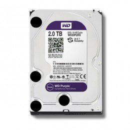"WD Purple 2TB Intellipower Sata 3.0 64Mb 3,5"" Güvenlik Diski 7x24"