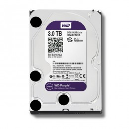 "WD Purple 3TB Intellipower Sata 3.0 64Mb 3,5"" Güvenlik Diski 7x24"