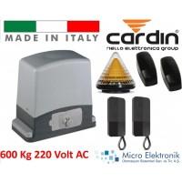 Cardin 600 Kg Kapı Motoru Seti 220 Volt İtalyan Bahçe Kapısı Motoru